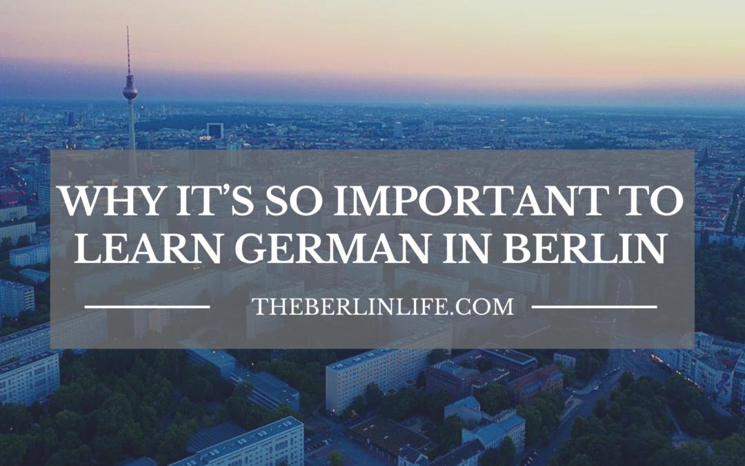 Learn German in Berlin - Header
