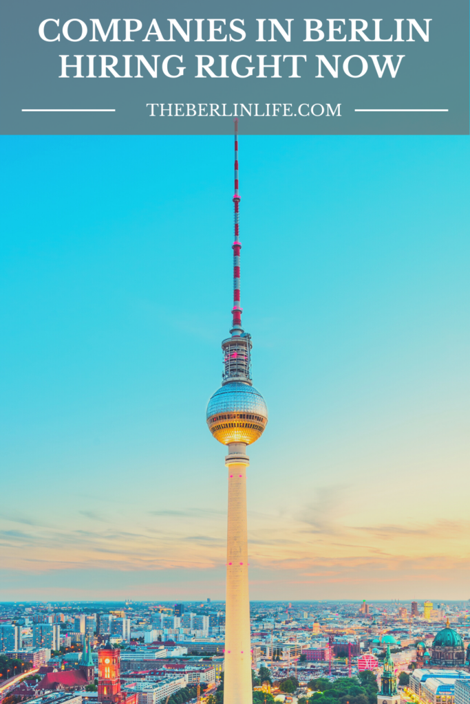 Companies In Berlin Hiring Right Now - Pin 1