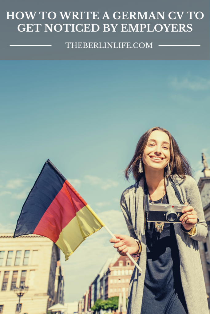 How To Write A German CV To Get Noticed By Employers Pin 2