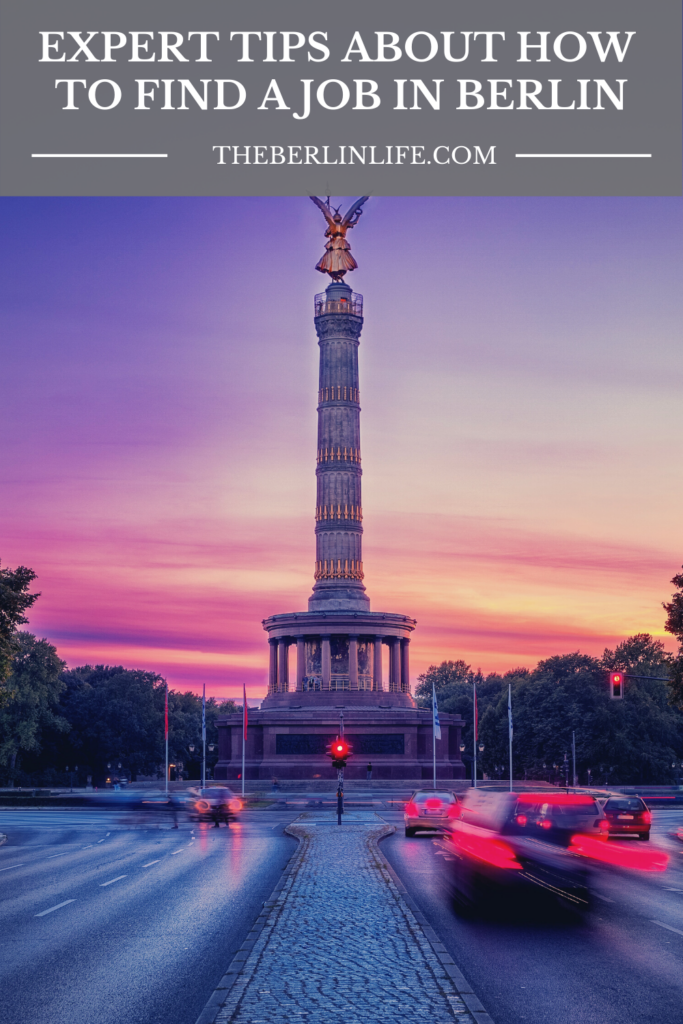 Expert Tips About How To Find A Job In Berlin - Pin 2